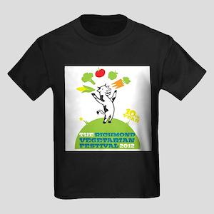 White RVF 2012 Kids Dark T-Shirt