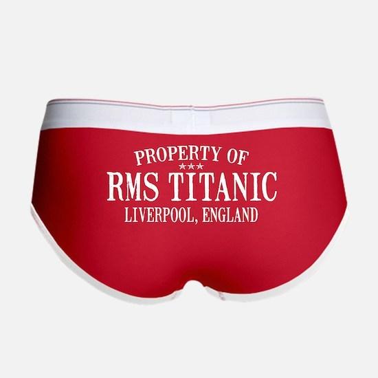 Titanic Women's Boy Brief