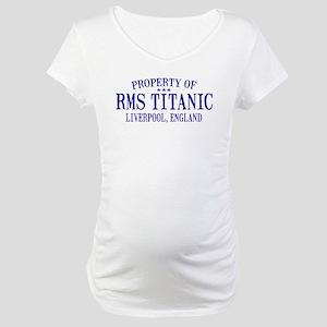 Titanic Maternity T-Shirt