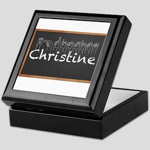 Christine Keepsake Box