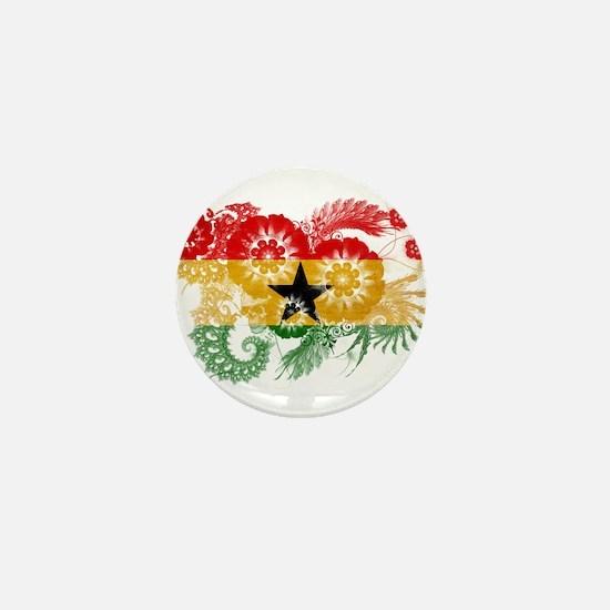 Ghana Flag Mini Button