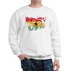 Ghana Flag Sweatshirt