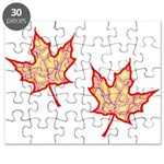 Fire Leaf Puzzle