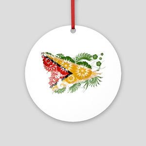Guyana Flag Ornament (Round)