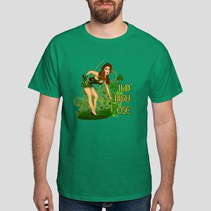 Wild Irish Rose Pinup Dark T-Shirt