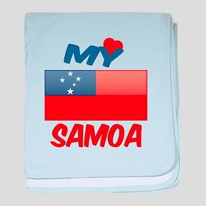 My Love Smaoa baby blanket