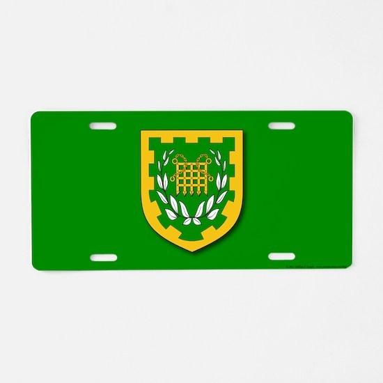 Unser Hafen Aluminum License Plate