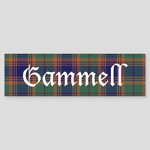 Tartan - Gammell Sticker (Bumper)