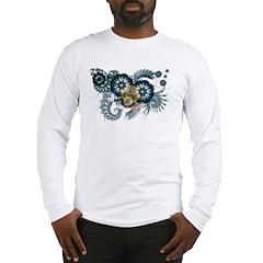Idaho Flag Long Sleeve T-Shirt