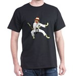 Sock Monkey Karate Dark T-Shirt