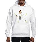 Sock Monkey Karate Hooded Sweatshirt