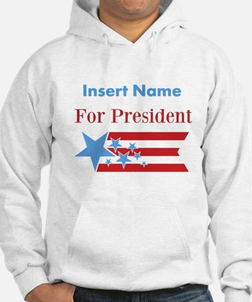 Personalized For President Hoodie