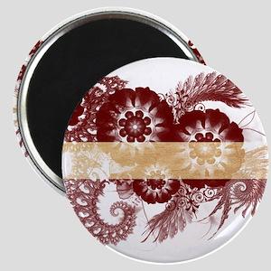 Latvia Flag Magnet