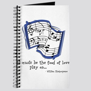 Music be the Food of Love Journal