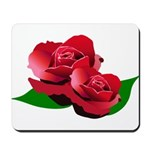 Two Red Roses Mousepad