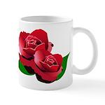 Two Red Roses Mug