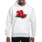 Two Red Roses Hooded Sweatshirt