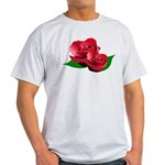 Two Red Roses Light T-Shirt