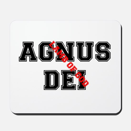 AGNUS DEI - LAMB OF GOD.png Mousepad