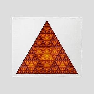 Sierpinski Throw Blanket