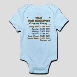 Texas State Trooper Baby Clothes Accessories Cafepress
