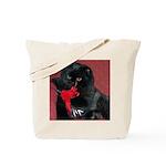 Black Persian Cat Tote Bag