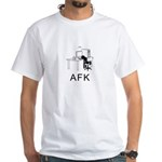 AFK White T-Shirt