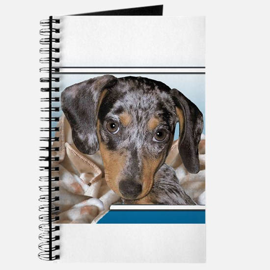 Speckled Dachshund Dogs Journal