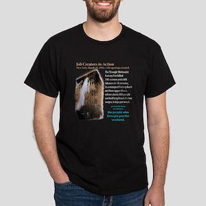 Job Creators: Triangle Fire Dark T-Shirt