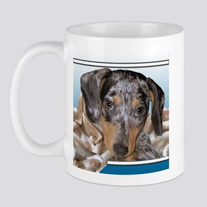 Speckled Dachshund Dogs Mug