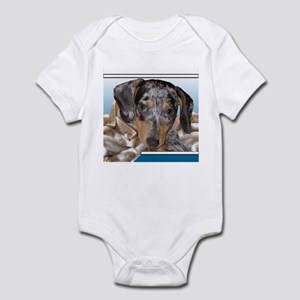 Speckled Dachshund Dogs Infant Creeper