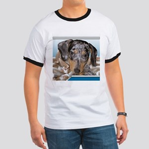 Speckled Dachshund Dogs Ringer T