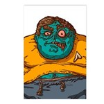 Zombie Fanboy Postcards (Package of 8)