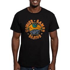 Zombie Fanboy Men's Fitted T-Shirt (dark)