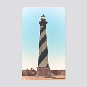 Hatteras Lighthouse. Sticker (Rectangle)