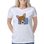 corgi_drawing Women's Classic T-Shirt