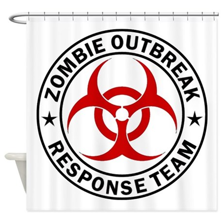 biohazard bed bath cafepress Zombie Signs