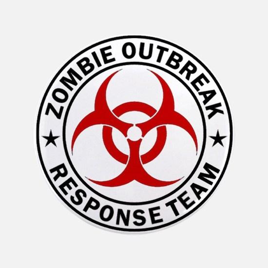 "Zombie Outbreak Response Team 3.5"" Button (100 pac"