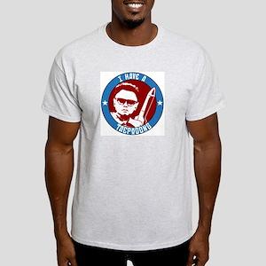 Taepodong Ash Grey T-Shirt