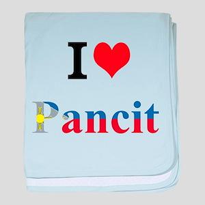 I luv Pancit baby blanket