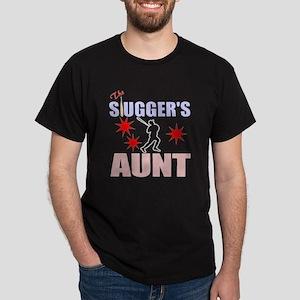 The baseball slugger's aunt Dark T-Shirt
