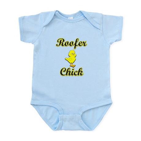 Roofer Chick Infant Bodysuit