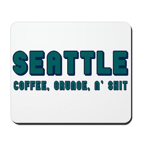 FUNNY SEATTLE Mousepad