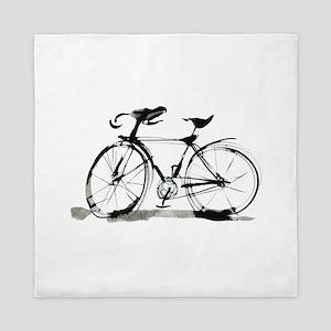Bicycle Queen Duvet