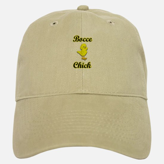 Bocce Chick Baseball Baseball Cap