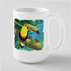 Rain Forest Toucan Large Mug