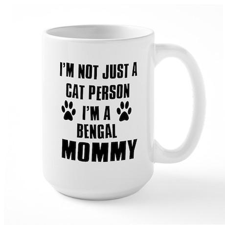 Bengal Cat Design Large Mug