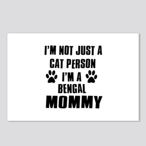 Bengal Cat Design Postcards (Package of 8)