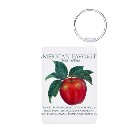 AMERICAN FAVORITE Aluminum Photo Keychain