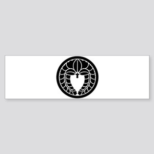 Fuji1(White Line) Sticker (Bumper)